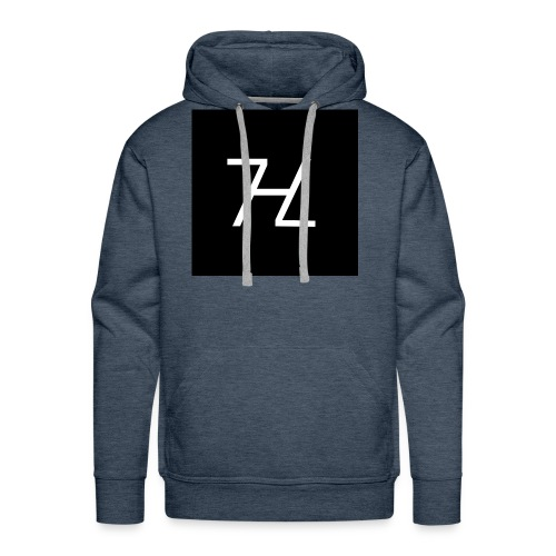 Halle7 Logo - Männer Premium Hoodie
