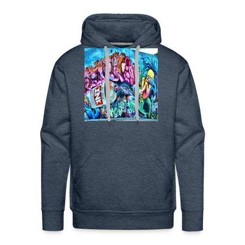 arte urbano - Sudadera con capucha premium para hombre