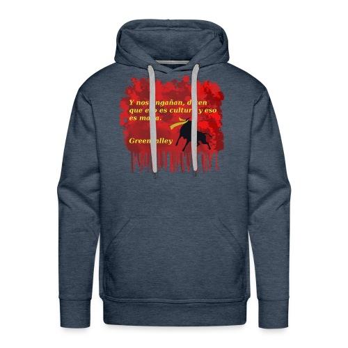 Tauromaquia - Sudadera con capucha premium para hombre