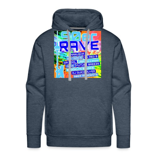 90erRave - Männer Premium Hoodie