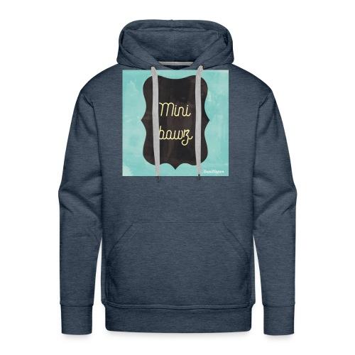 M.ini bawz - Mannen Premium hoodie