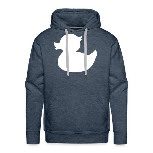 White Duck - Mannen Premium hoodie