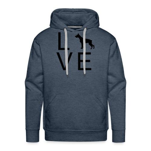 Dog Love 6 - Männer Premium Hoodie