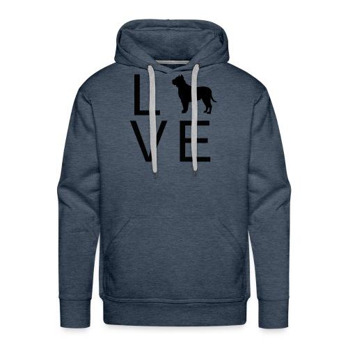 Dog Love 7 - Männer Premium Hoodie