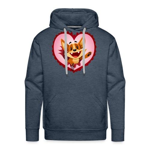 Fuchs 2 - Männer Premium Hoodie
