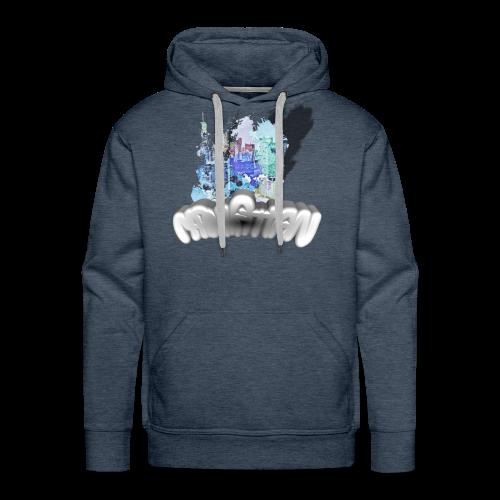Manhattan Lpseb - Sweat-shirt à capuche Premium pour hommes