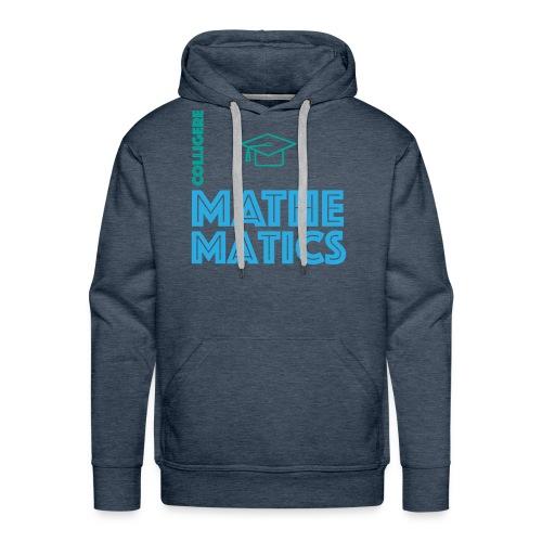 Colligere Math - Premium hettegenser for menn