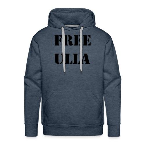 Free Ulla - Svart Text - Premiumluvtröja herr