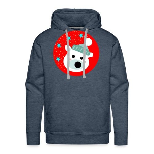 Winter bear - Men's Premium Hoodie