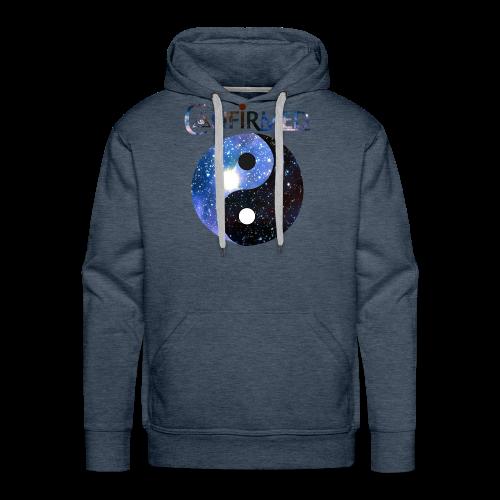 CONFIRMED! - YING EN YANG GALAXY - Mannen Premium hoodie