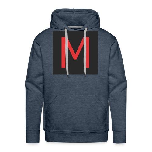 Magazine_Logo - Felpa con cappuccio premium da uomo