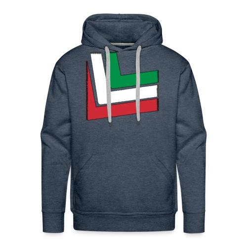 T-shirt Italia - Felpa con cappuccio premium da uomo