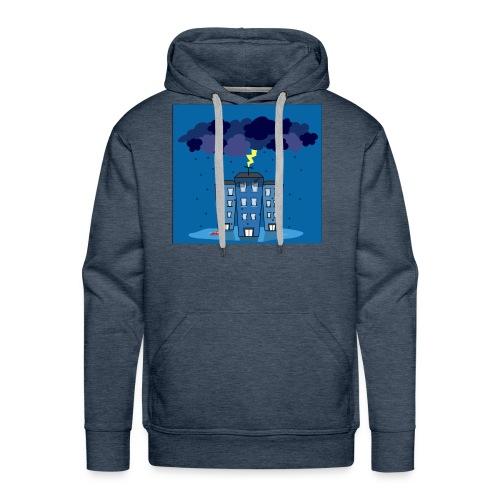 onweer-jpg - Mannen Premium hoodie