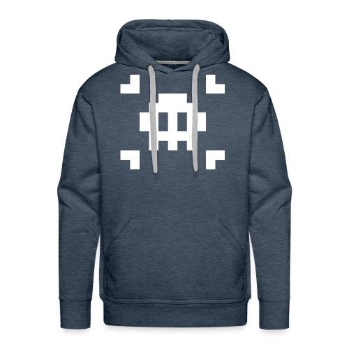 Pixel Skull - Sweat-shirt à capuche Premium pour hommes