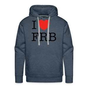 I Love FRB - Herre Premium hættetrøje