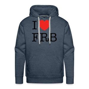 I Love FRB - Streetwear - Herre Premium hættetrøje