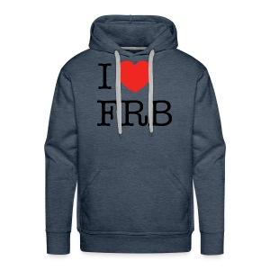 I Love FRB - Bestsellere - Herre Premium hættetrøje