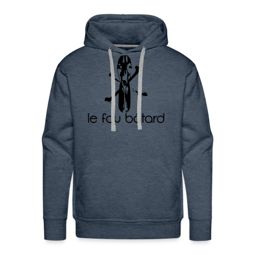 The duck is dead Le fou bâtard - Mannen Premium hoodie