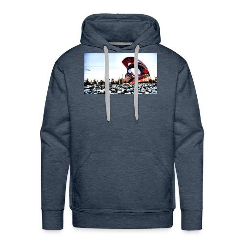 wallpaper casque - Sweat-shirt à capuche Premium pour hommes