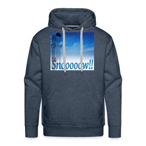 Snoooooow - Premium hettegenser for menn