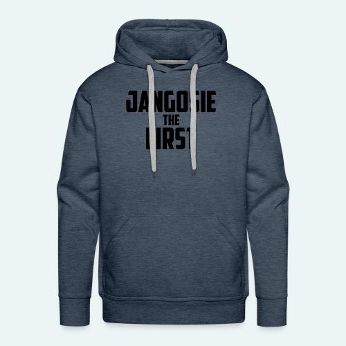 jangosiethefirst pet - Mannen Premium hoodie