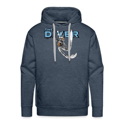 the_diver - Sudadera con capucha premium para hombre