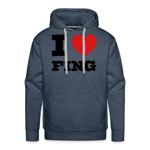 I Love FIng - Premiumluvtröja herr