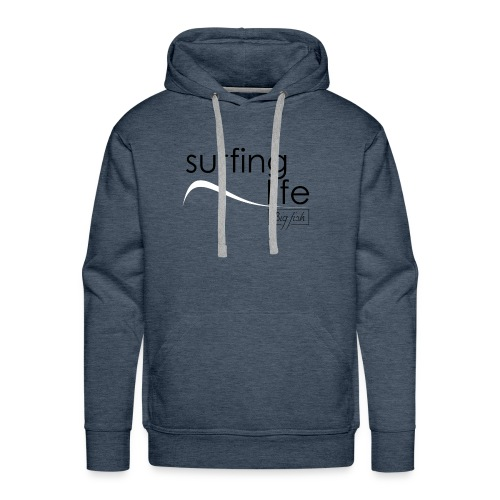 Surfing Life - Sudadera con capucha premium para hombre