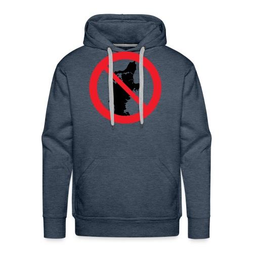 Jylland forbudt - Herre Premium hættetrøje