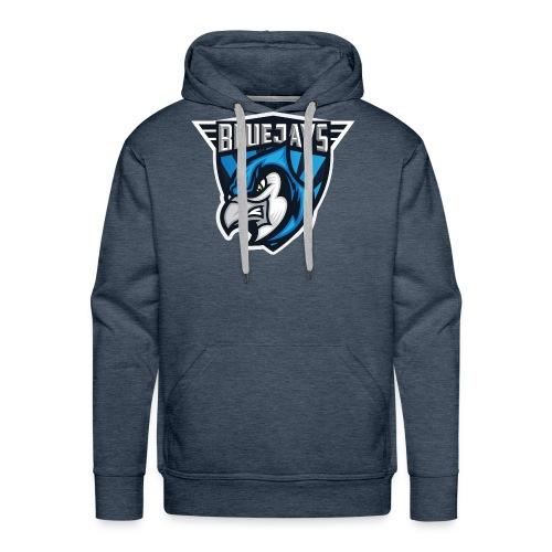 BLUEJAYS Logo - Männer Premium Hoodie