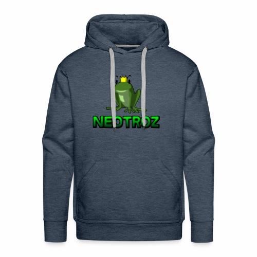 NeoTroZ Grenouille - Sweat-shirt à capuche Premium pour hommes