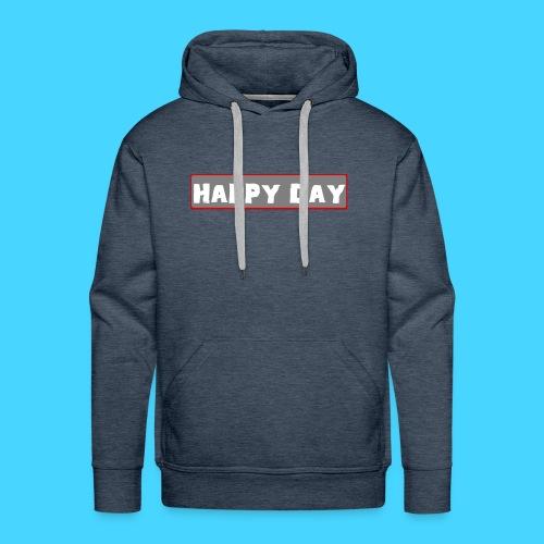 happy_day - Männer Premium Hoodie