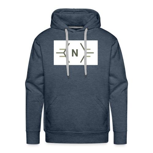 N exclusive logo - Mannen Premium hoodie