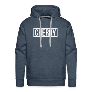 Cherry White - Mannen Premium hoodie