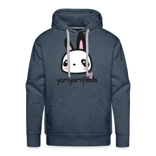 Yam Yam Panda-Hase - Männer Premium Hoodie