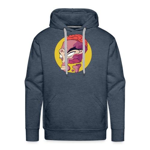 Open minded - Sweat-shirt à capuche Premium pour hommes