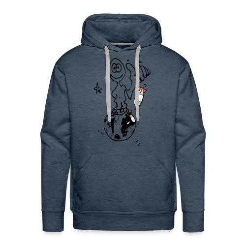 Ma planète - Sweat-shirt à capuche Premium pour hommes