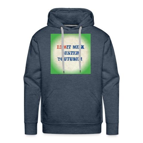 LPMIT_Meik_2 Schriftzug Bund - Männer Premium Hoodie