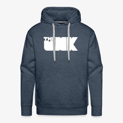 The Unk Wit Zonder Border - Mannen Premium hoodie