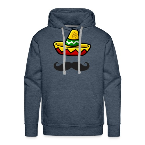 Fantôme mexicain - Sweat-shirt à capuche Premium pour hommes