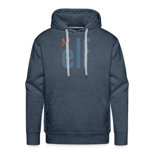 No. elf Logo - Männer Premium Hoodie