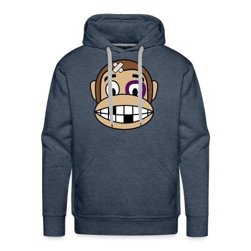 Bruised Monkey - Men's Premium Hoodie