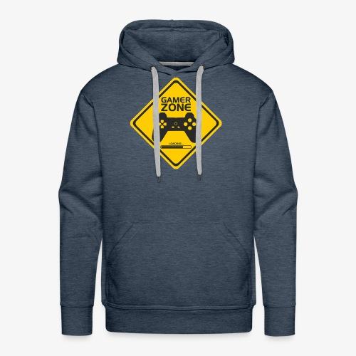 AMRS ShirtDesigns Game Zone - Sweat-shirt à capuche Premium pour hommes