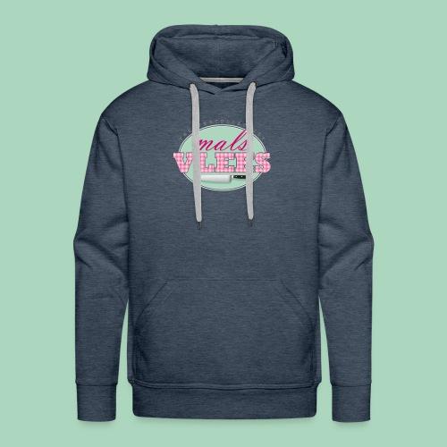 Theatercollectief Mals Vlees logo - Mannen Premium hoodie