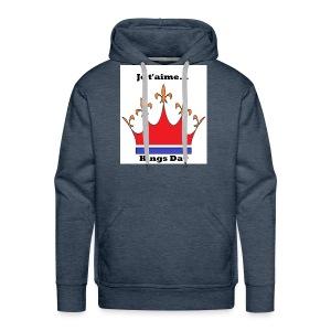 Je taime Kings Day (Je suis...) - Mannen Premium hoodie