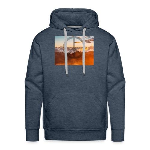 MAKE LOVE NOT WAR - Mannen Premium hoodie