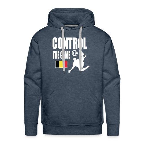 Control The Game Belgium - Mannen Premium hoodie
