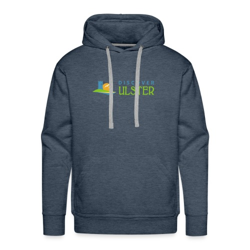 discover ulster logo - Men's Premium Hoodie