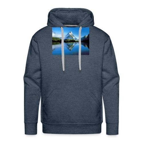 paysages de reve 05 - Sweat-shirt à capuche Premium pour hommes