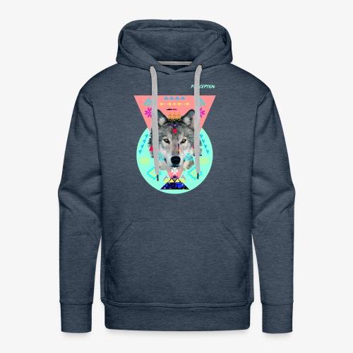 LOUP PERCEPTION 6 PERCEPTION CLOTHNIG - Sweat-shirt à capuche Premium pour hommes